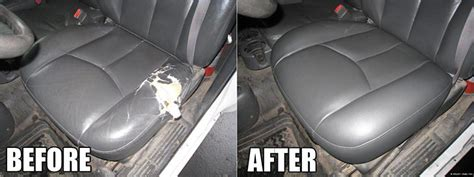 leather car seats repair repair leather car seat