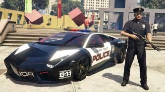 Lamborghini Cop Gta 5 Mods Play As A Cop Mod Gta 5 Lamborghini