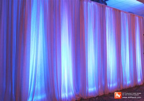 drape lights try white drape instead of black av planit