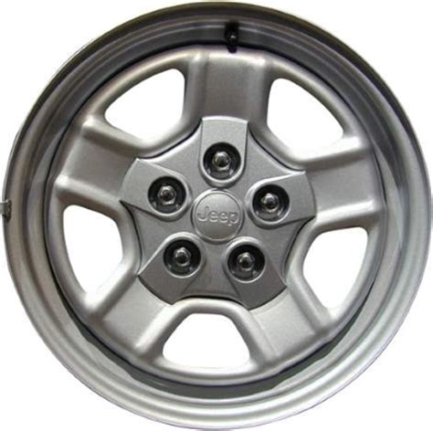 Steel Jeep Wheels Stl9077 Jeep Patriot Wheel Steel Silver Oyx87trmaa