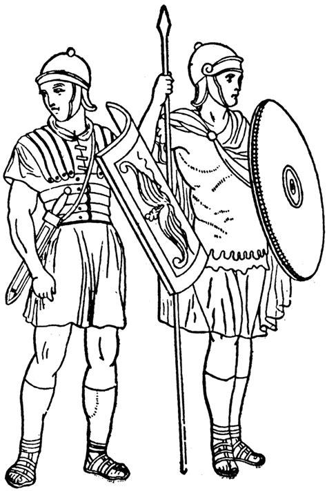 roman soldiers clipart etc