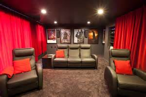 motorized home theater curtains theater room h2d architecture design blog