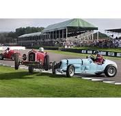 MG And Alfa Romeo Crash At Goodwood Revival  James Mann