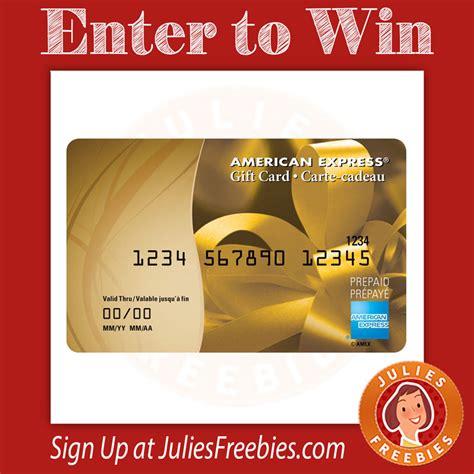 Amex Gift Card - win a 100 amex gift card julie s freebies
