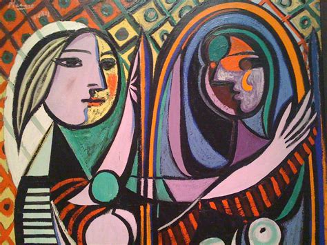 picasso paintings in mirror picasso picasso painting at moma nathan laurell flickr