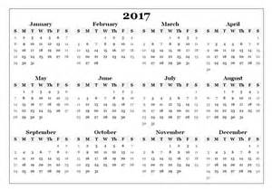 The Calendar For 2017 Free Printable Calendar Templates 2017 Printable
