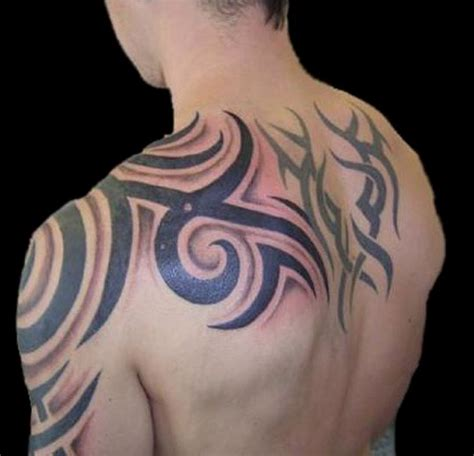 tribal back shoulder tattoo 52 most eye catching tribal tattoos