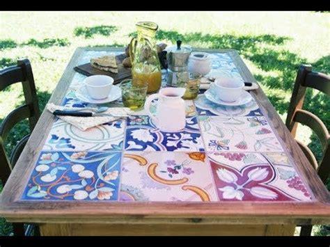 Tavolo Con Piastrelle by Fai Date Piano Tavolo Con Piastrelle In Ceramica
