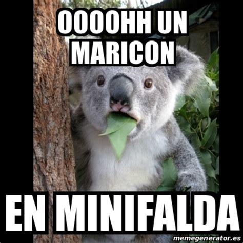 Meme Generator Koala - meme koala oooohh un maricon en minifalda 19517307