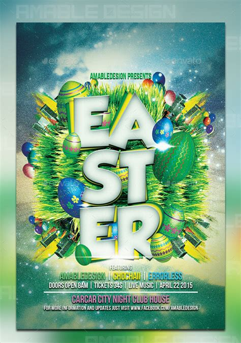 photoshop template easter easter flyer template 28 download documents in vector