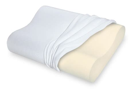 foam polystyrene pillow sleep innovations touch of comfort memory foam pillow