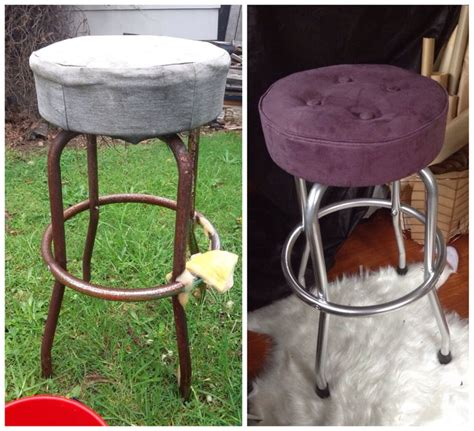 Spray Paint Bar Stools by 25 Best Ideas About Chrome Spray Paint On