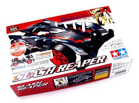 Tamiya Slash Reaper tamiya model mini 4wd racing car 1 32 slash reaper clear orange vs 95219 ebay