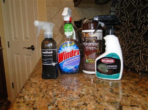 Cleaning Granite Countertops Windex how to clean a granite countertop ehow autos post