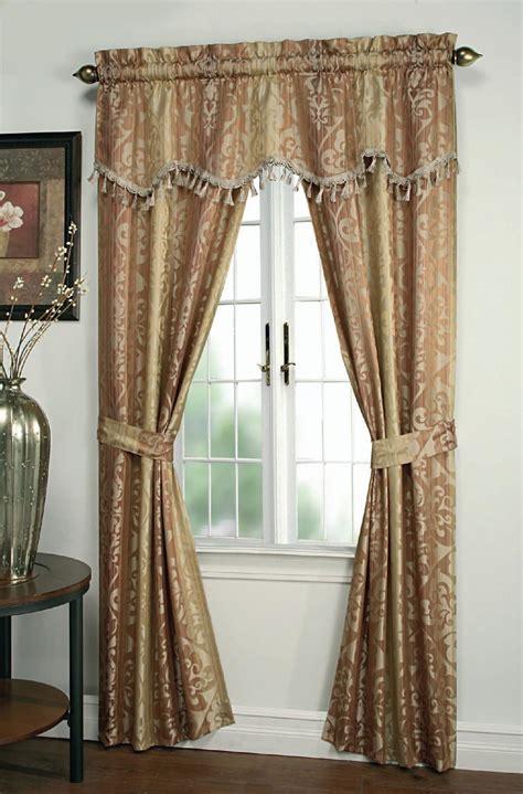 5 piece window curtain sets cannon ombre 5 piece window set