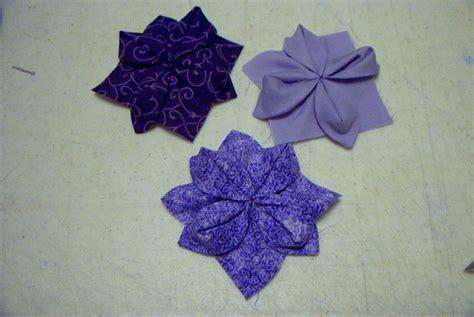 Fabric Origami Tutorial - fabric origami quilt block