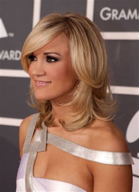 hairstyles to the side for medium hair 60 popular shoulder length hairstyles