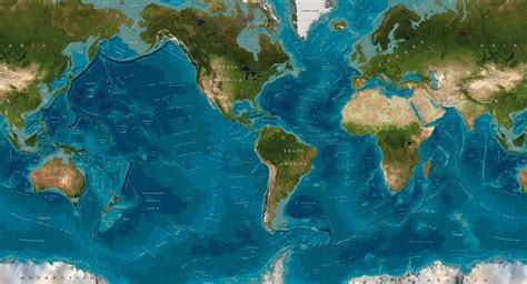 topographic map of the world geopolitical or topographical geochron