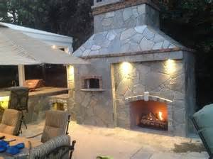 diy outdoor pizza oven fireplace home design ideas