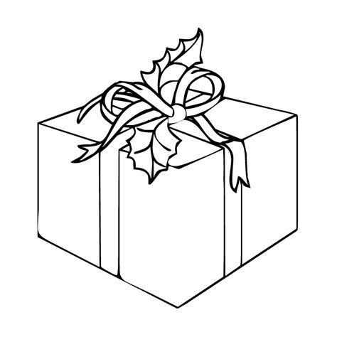 coloring page gift presents coloring pages best coloring pages for kids