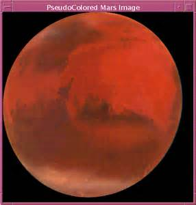 what is the color of mars fig 2 an exle in 8 bit pseudocolor mode
