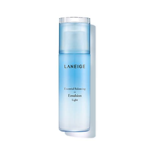 Lanaige Light Balancing Emulsion skincare essential balancing emulsion light laneige sg