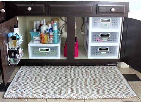organize under the bathroom sink 25 best ideas about bathroom sink organization on