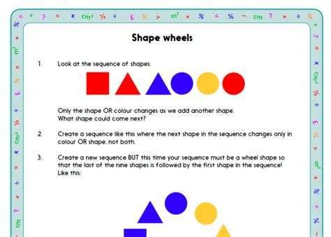 shape pattern investigation ks1 problem solving maths investigations for y1 as well