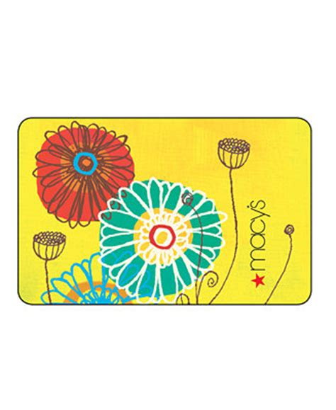 Macys Gift Card Deals - macy s spring flowers gift card