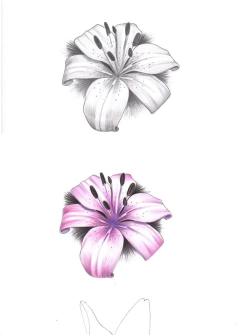 small lily flower tattoos 51 small tattoos ideas