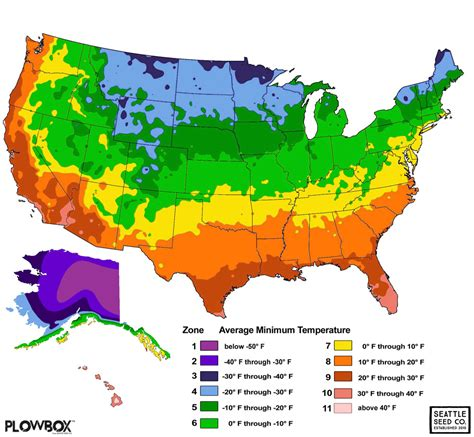 usda zone map usda hardiness zone map