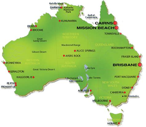 geographical map australia australia map geography pictures map of australia region