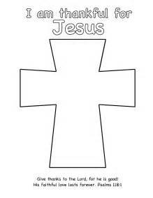 cross templates thanksgiving craft thankful for jesus egglo entertainment