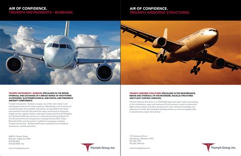 Trium Mba Requirements by Triuimph Aerospace Branding And Marketing