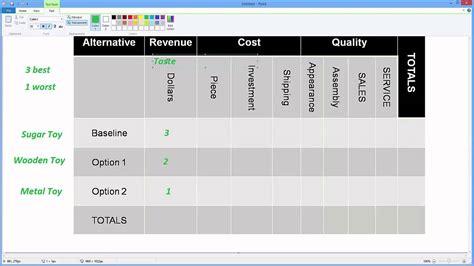 design management material oberfl 228 chen beratung von engineering basics what is a decision matrix youtube