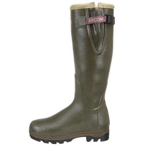 le chameau mens boots vierzon air wellington boots vierzon air comfort or