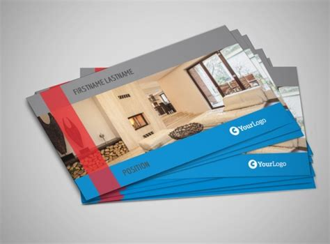 sle business cards templates residential real estate business card template
