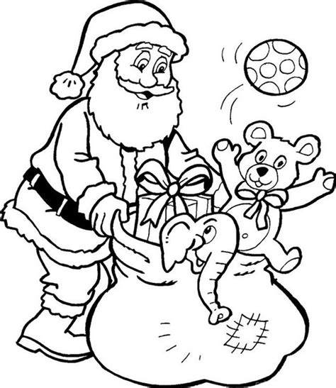 coloring pictures of father christmas dibujos de pap 225 noel para colorear dibujos de santa claus