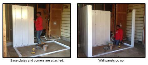 Bolt Together Safe Room Installation Roof & Wall panels