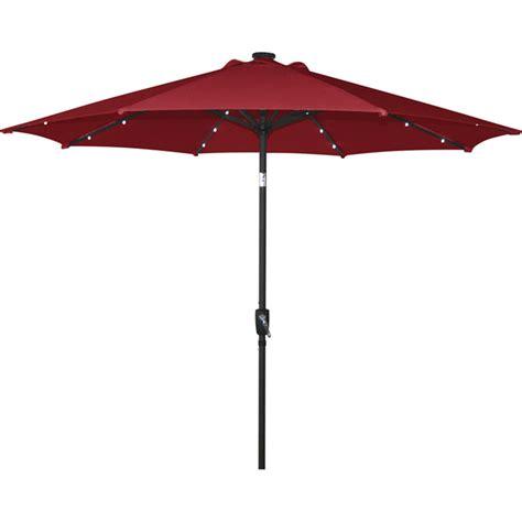 Rona Patio Umbrella Solar Light Umbrella 8 8 Rona