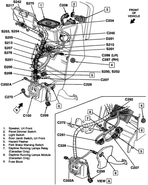 wiring diagram for 1993 chevy suburban get free image