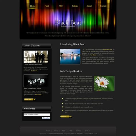 beat template template 188 black beat