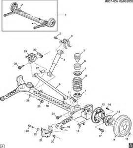 Pontiac Aztek Parts Pontiac Aztek Suspension Rear