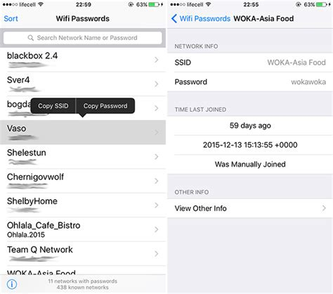 Can See What You Search On Wifi How To Find Wifi Password On Ios For Saved Networks Redmond Pie