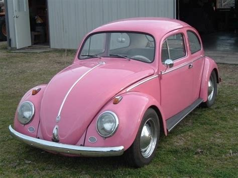Boneka Mobil Vw Pink pink vw bug beetle girly cars for drivers pink cars it s the car for
