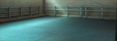 Poured Rubber Flooring by Equine Flooring Poured Rubber Flooring By Equi Turf