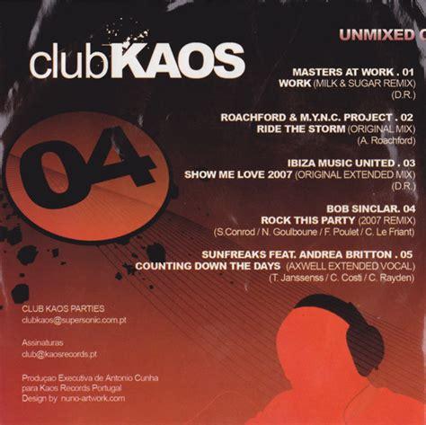 Kaos Musik 04 club kaos 04 2007 portugal house