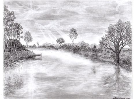 detailed pencil drawings nature made from a pencil by lukemack on deviantart