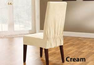 short dining chair covers soft suede at a budget price
