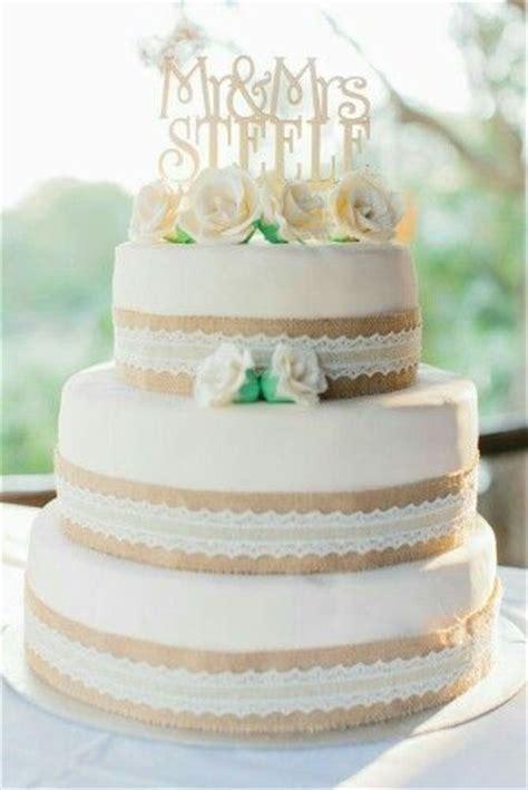 220 ber 1 000 ideen zu hochzeitstorte mit spitze auf - Hochzeitstorte Jute